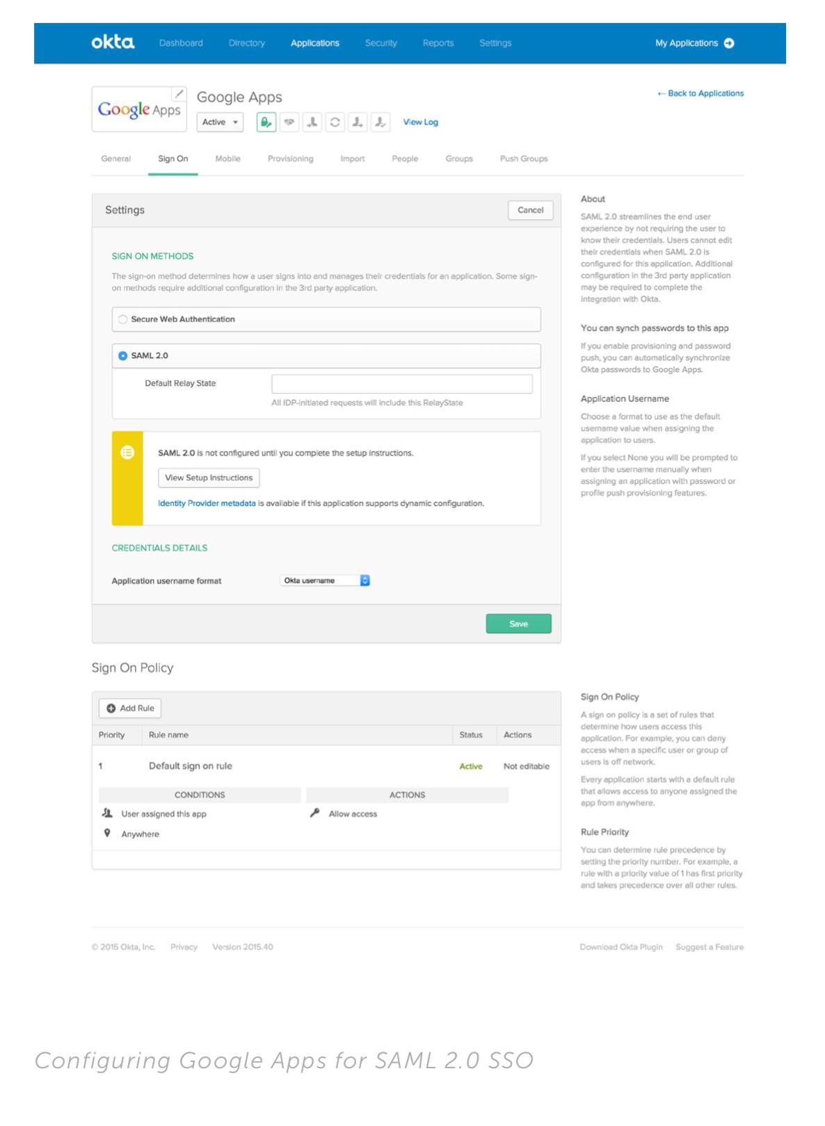 04/29/2019 – Okta: How Okta Integrates Applications   S&L